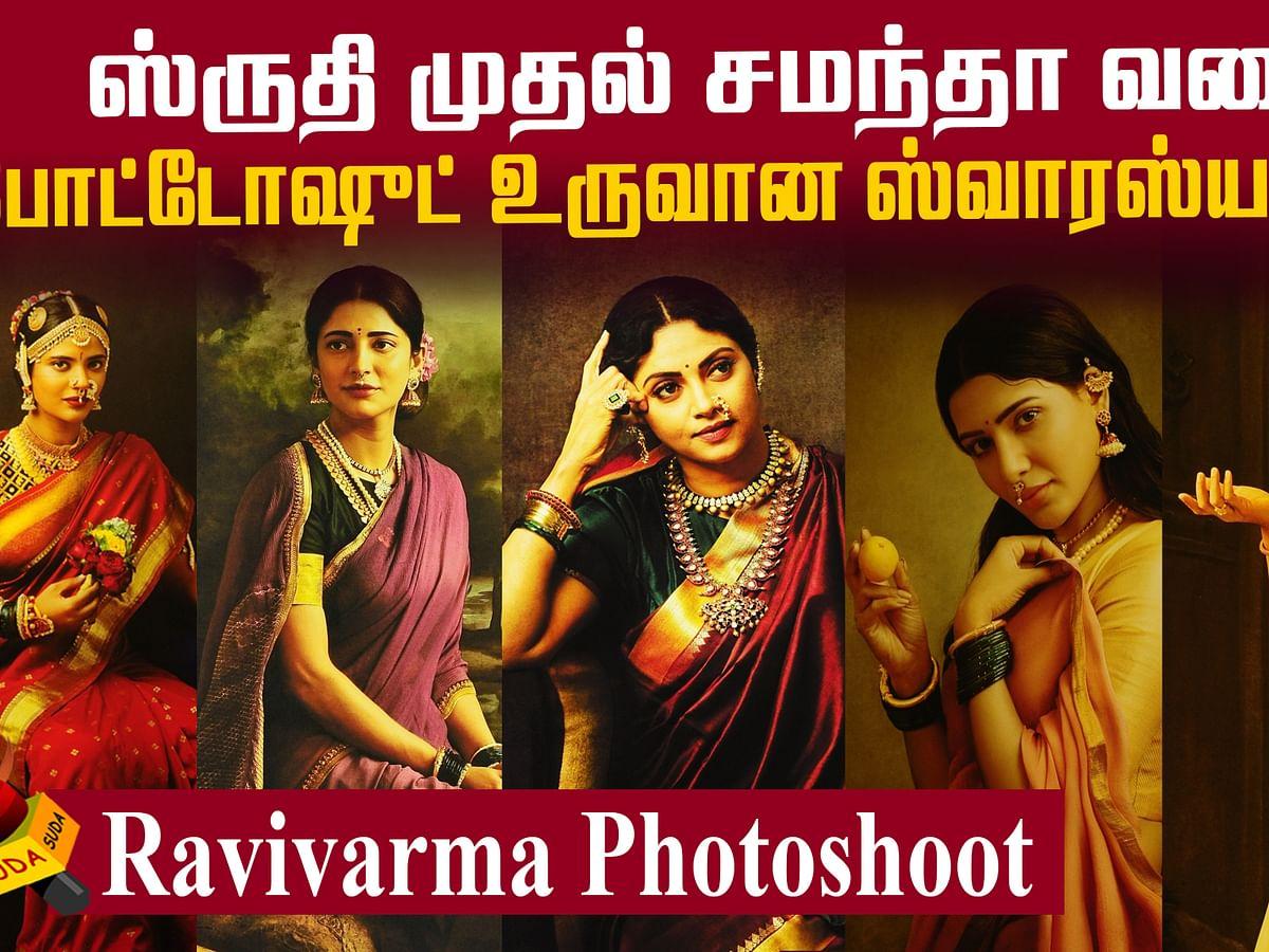 G Venkatram recreates Ravivarma panintings as photographs