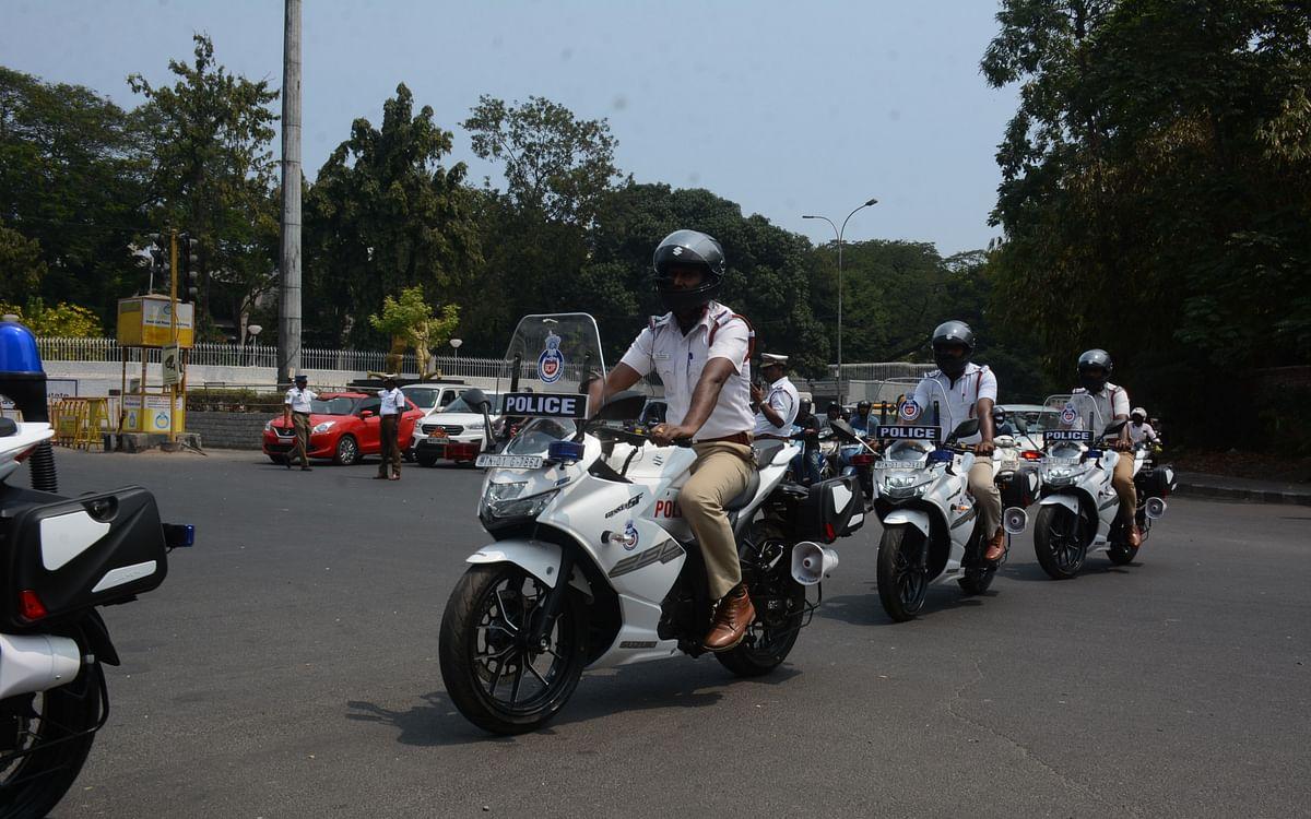 `மணிக்கு 150 கிலோமீட்டர் ஸ்பீடு!' - சென்னை டிராஃபிக் போலீஸாருக்கு அதிநவீன பைக்
