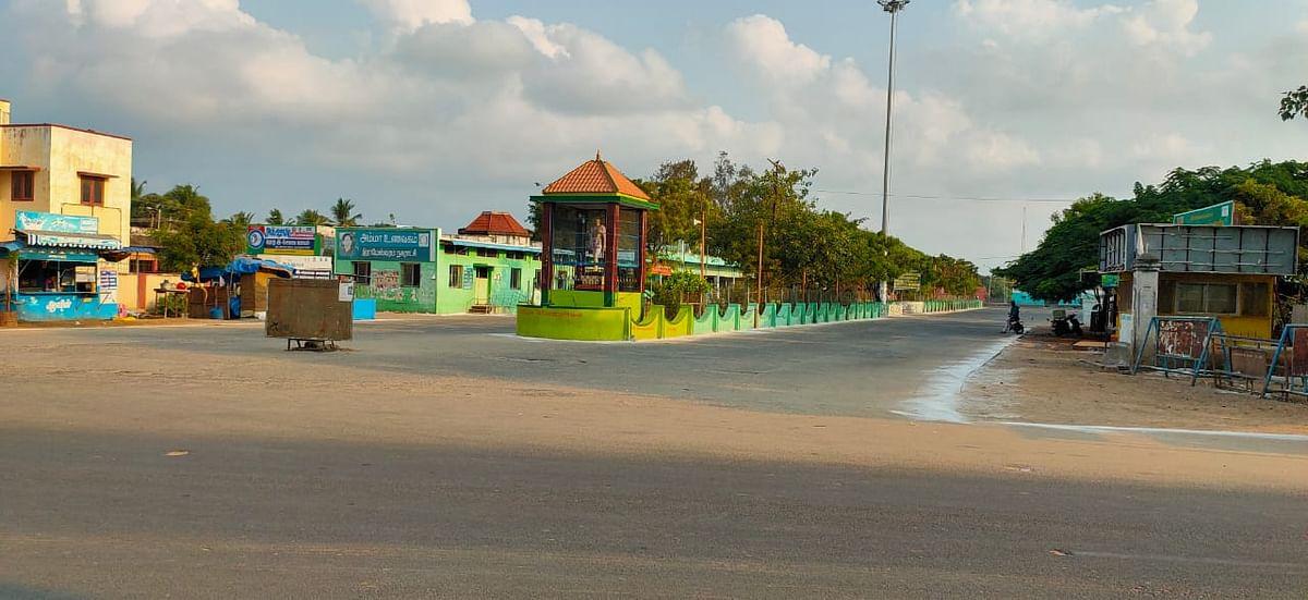 ராமேஸ்வரம் பேரூந்து நிலையம்
