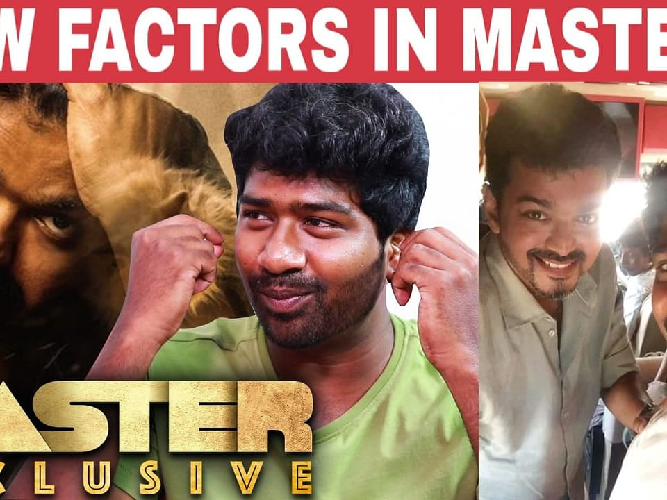 Vijay was not the first choice - Master Actor Lallu reveals - EXCLUSIVE INTERVIEW