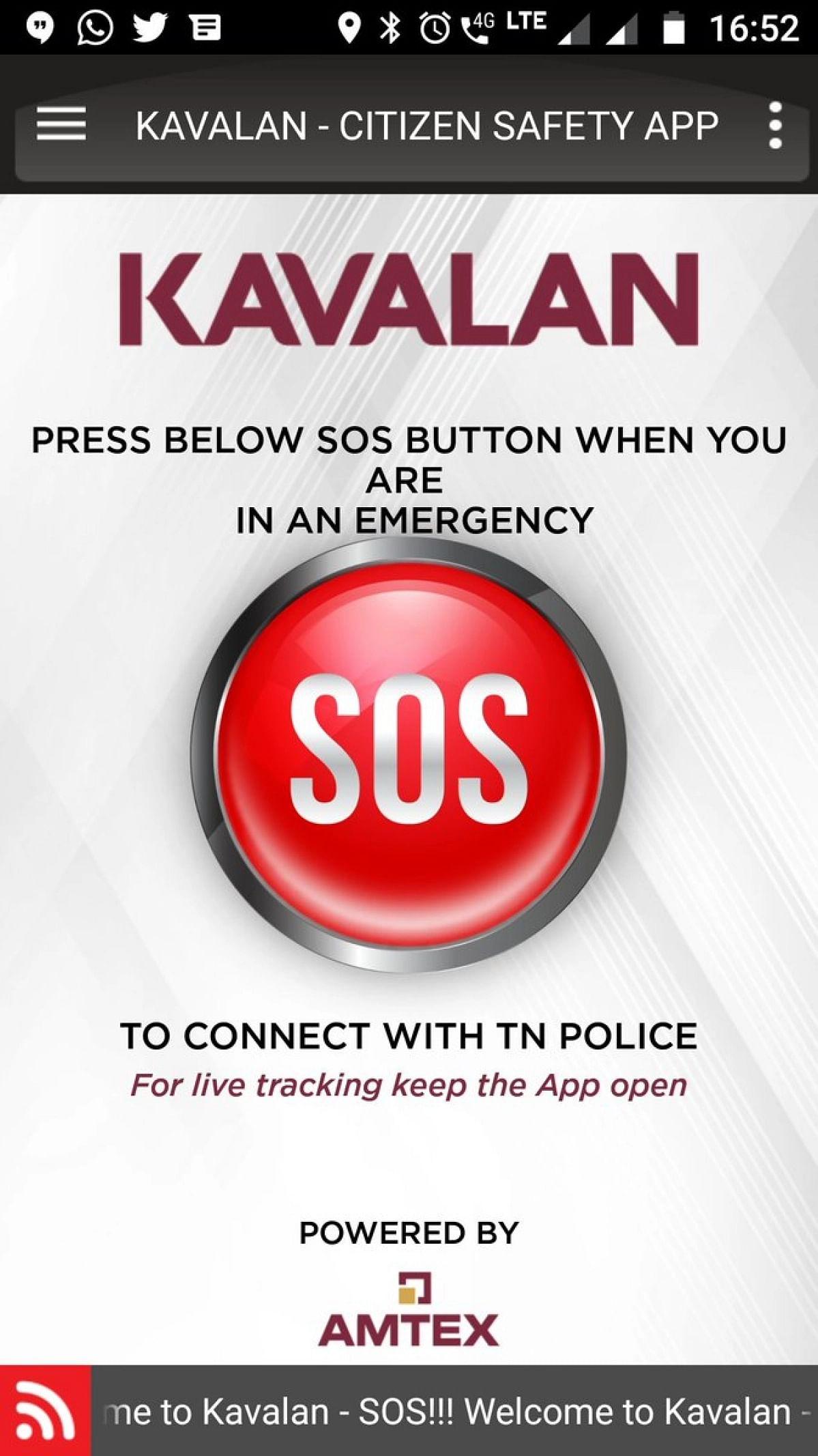 Kavalan - Citizen Safety App