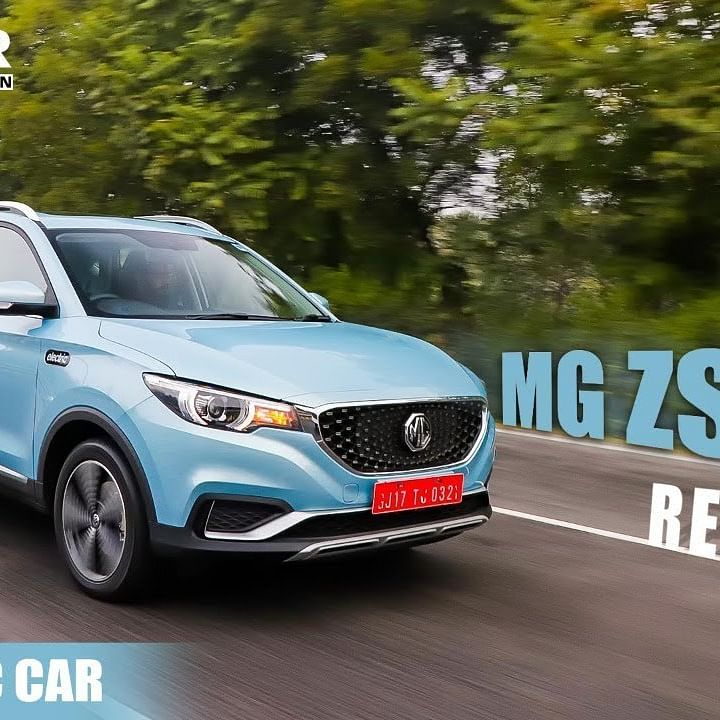 MG ZS EV Electric SUV Test Drive Review
