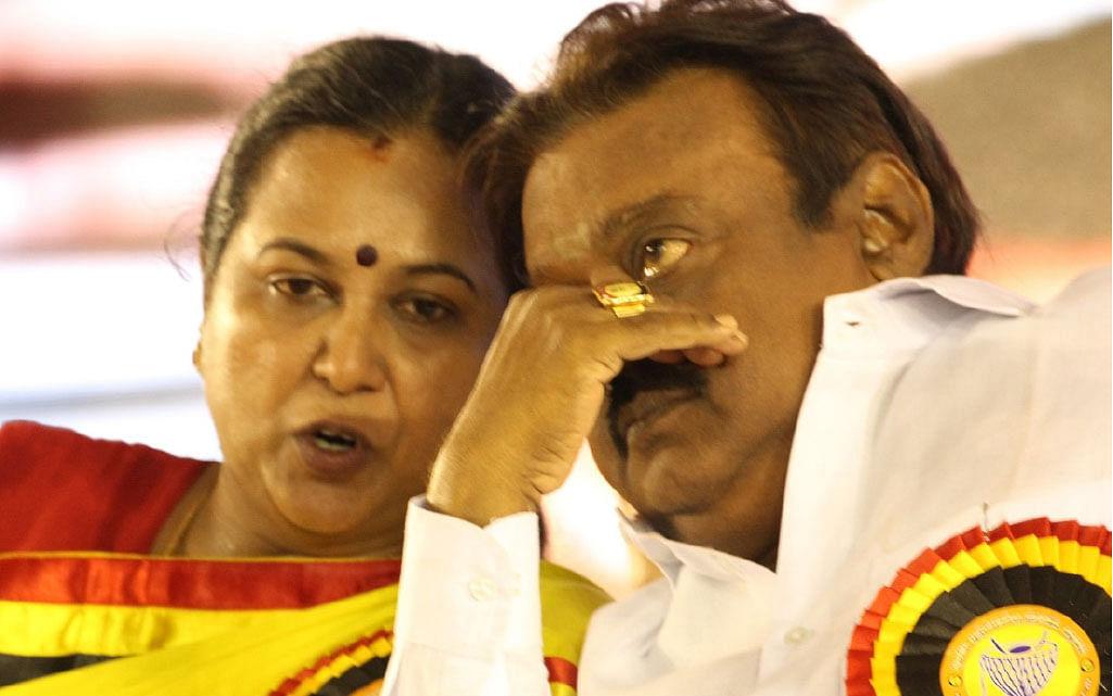 தடாலடியான பேரமா...  நிதானமான பயணமா? என்ன செய்யப்போகிறார் பிரேமலதா? #TNElection2021