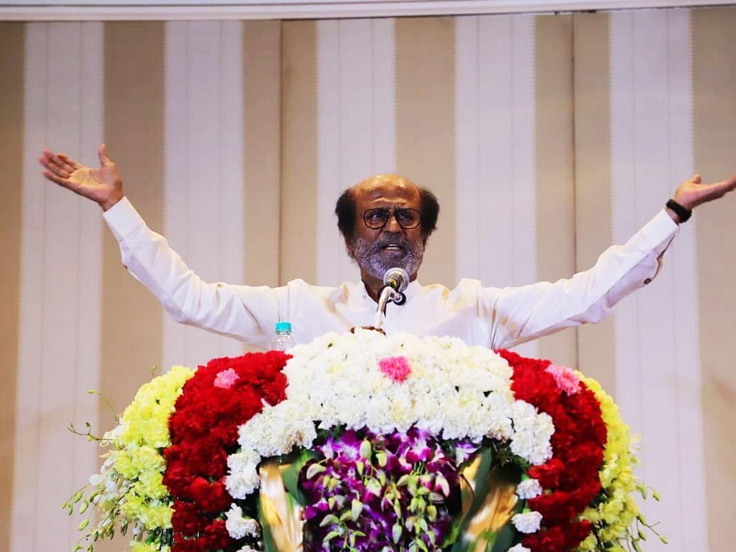 ``ரஜினிகாந்த் 71 வயசுல பொழச்சு வந்திருக்கேன்... இப்ப இல்லேன்னா..!?'' - நடிகர் ரஜினிகாந்த் #LiveUpdates #Rajinikanth