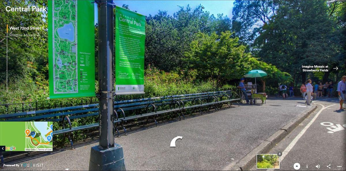 Central park VR tour