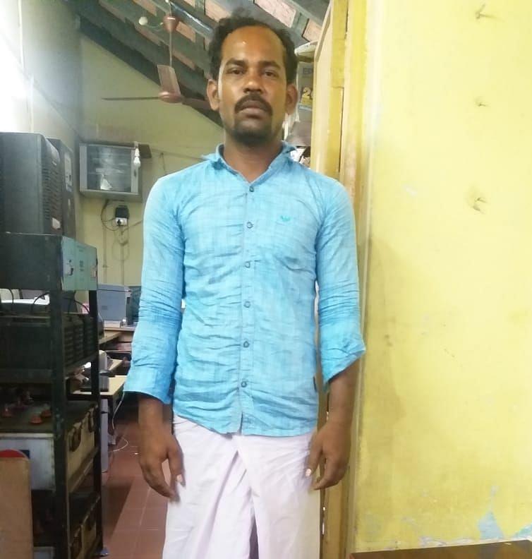சரணடைந்த முனீஸ்வரன்