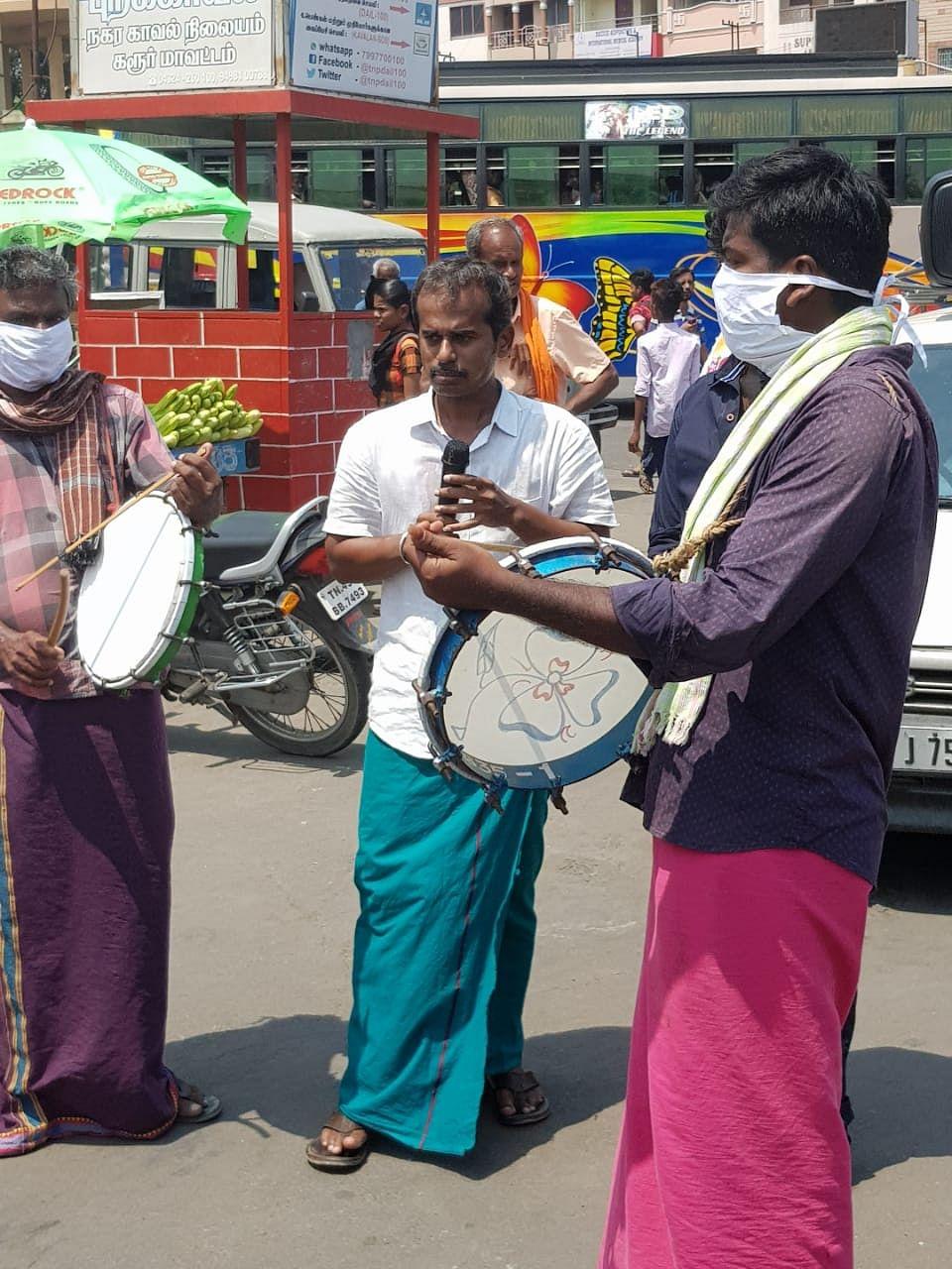 ராஜேஷ் கண்ணன் கொரோனா விழிப்புணர்வு