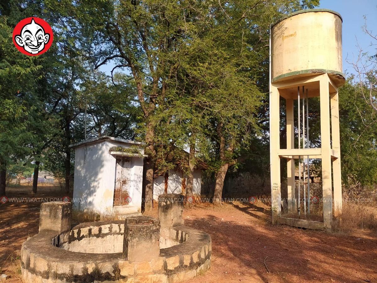 குண்டாங்கல் கிராம மக்கள் பயன்படுத்திய வாட்டர் டேங்