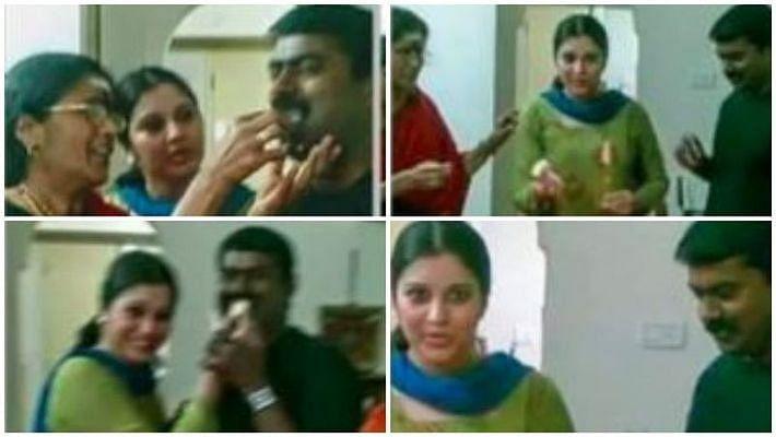 நடிகை விஜயலட்சுமி, சீமான்