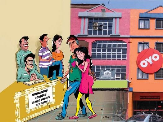 'வெல்கம் டு அன்மேரிட் கப்பிள்ஸ்' - ஹோட்டல் ரூம் விளம்பரமும் சில சம்பவங்களும்!