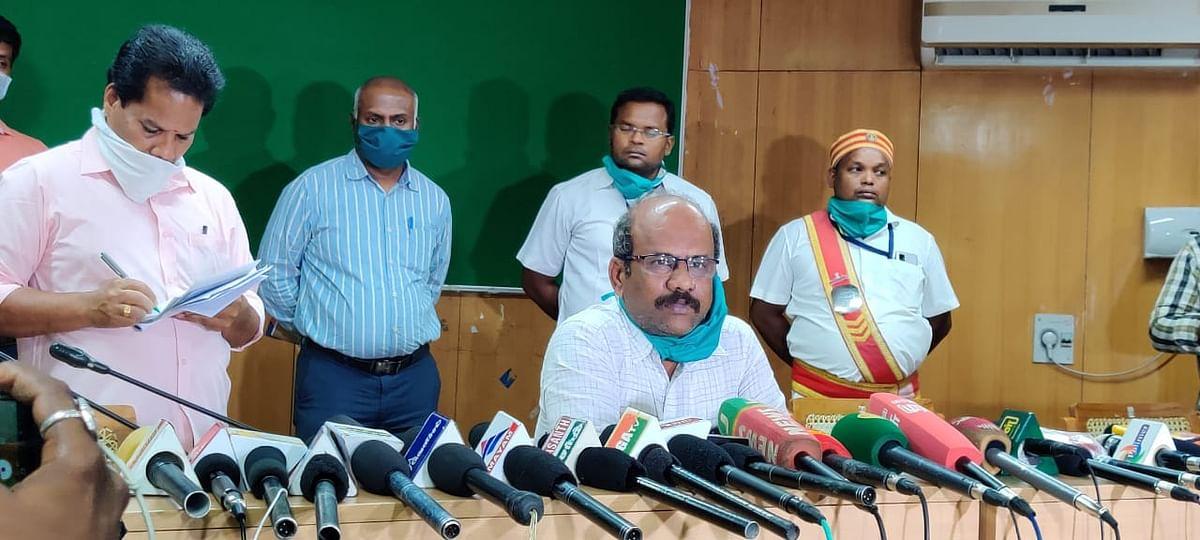 திருச்சி மாவட்ட ஆட்சியர் சிவராசு