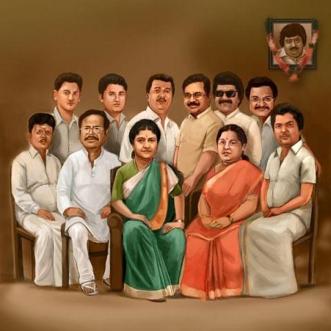 சசிகலா குடும்பத்தினர்