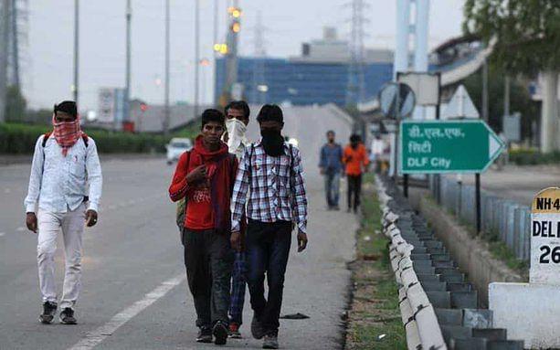 `5 வாரங்களுக்குப் பின்..!' -மத்திய அரசின் அனுமதியால் புலம்பெயர்ந்த தொழிலாளர்கள் நிம்மதி #Lockdown