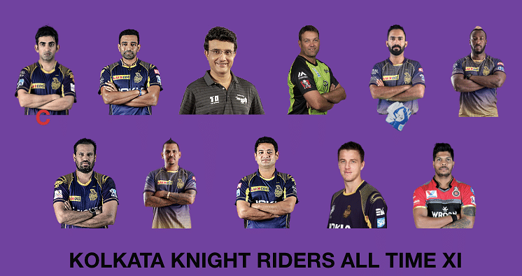 KKR All time XI