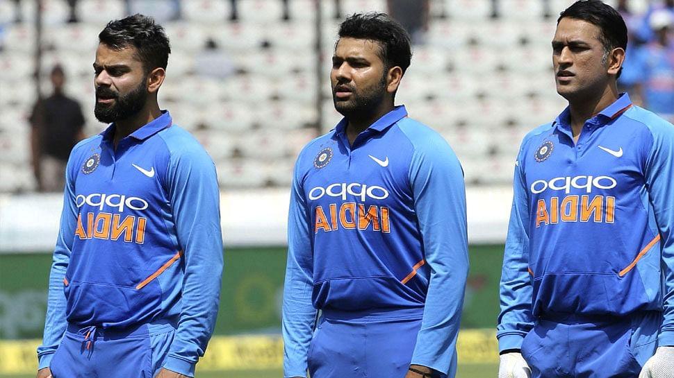 Kohli, Rohit & Dhoni