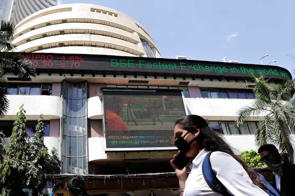 Bombay Stock Exchange (BSE) building in Mumbai, India