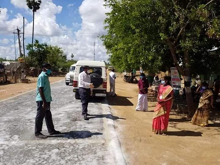 மாவட்டத்தின் முதல் கொரோனா நோயாளி... புதுக்கோட்டையைக் கலங்கவைத்த `மிரட்டு நிலை'