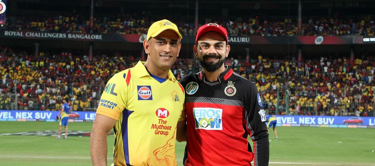MS Dhoni and Kohli