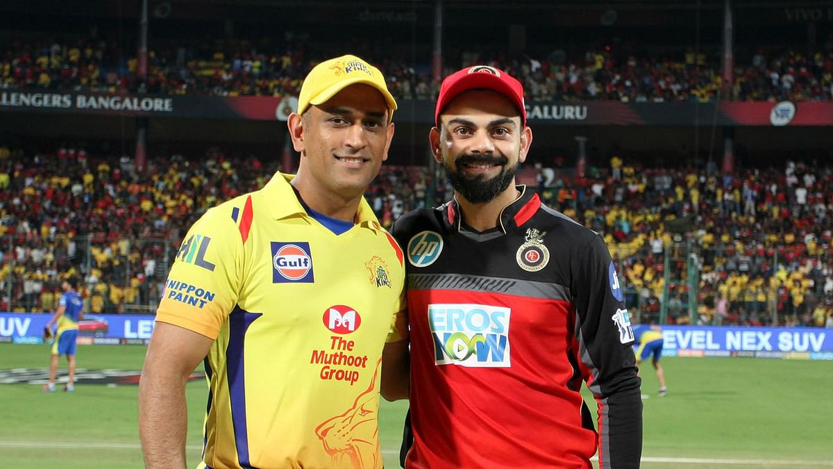 MS Dhoni and Kohli