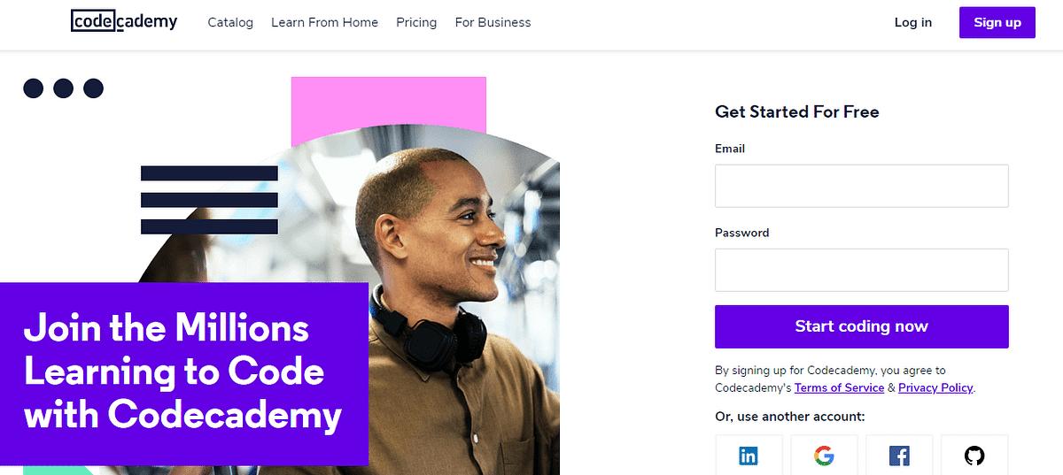 Codecademy Website