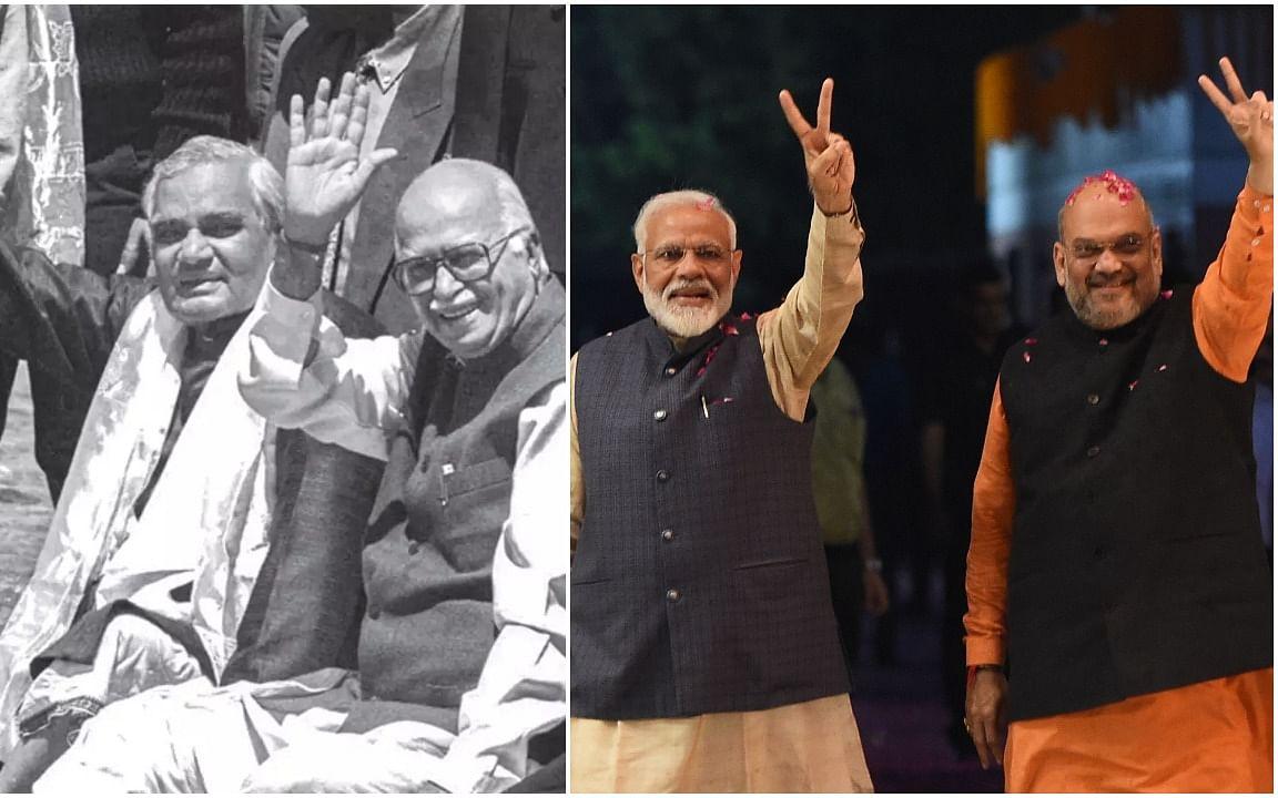 வாஜ்பாய் - அத்வானி முதல் மோடி - அமித் ஷா வரை... இது பி.ஜே.பி-யின் கதை! #BJPat40