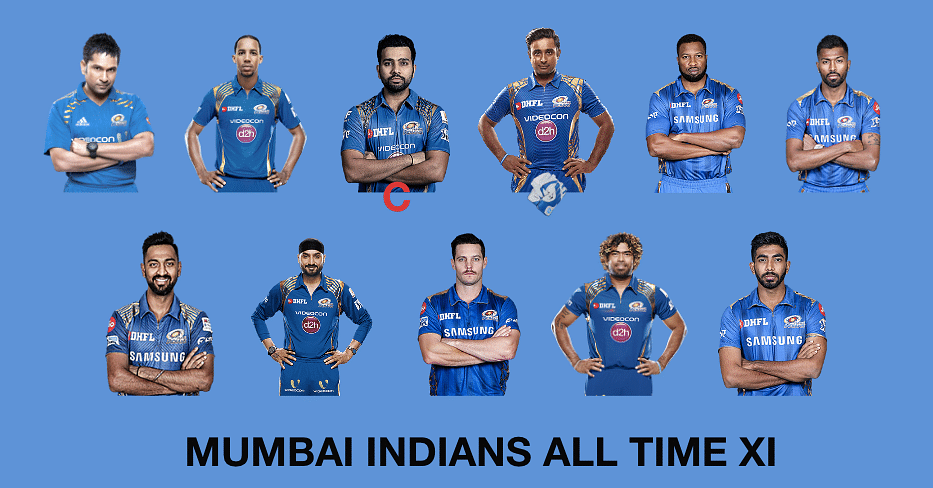 Mumbai Indians All time XI