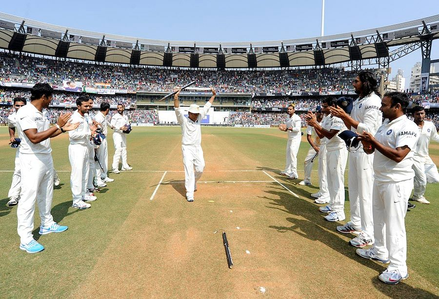 Guard Of Honour For Sachin