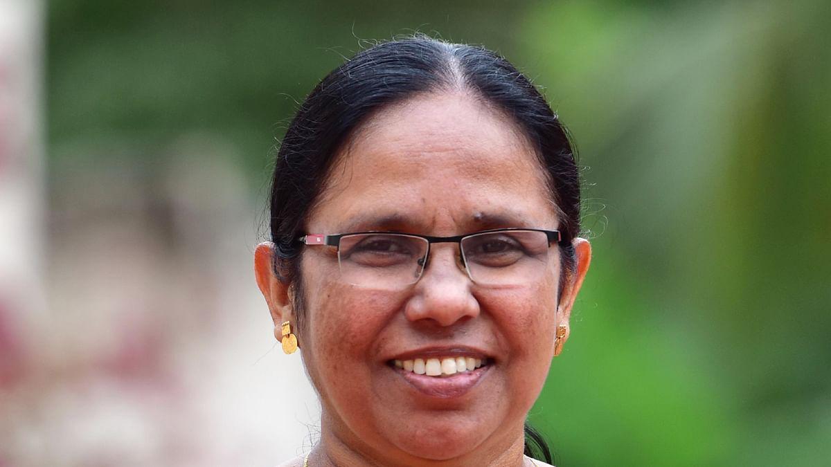 கேரள சுகாதாரத்துறை அமைச்சர் கே.கே.சைலஜா