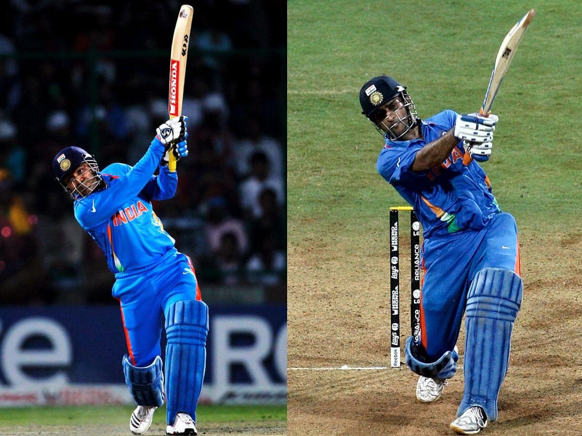 சிக்ஸரோடு தோனி முடித்தாலும் பவுண்டரிகளால் விதைத்தவர் ஷேவாக்! #2011Worldcup #Dhoni #Sehwag