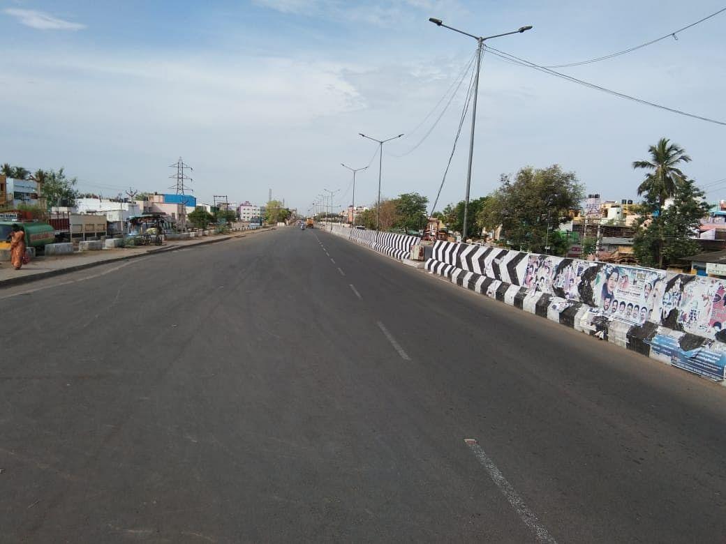 சென்னை - ஊரடங்கு