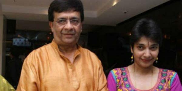 அப்பா ஒய்.ஜி. மகேந்திரனுடன் மதுவந்தி