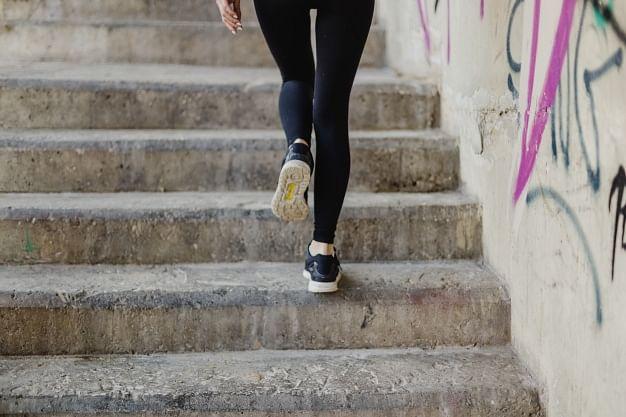 Climb on Steps