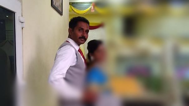 பத்மபிரியாவுடன் கணவர் ராஜராம்