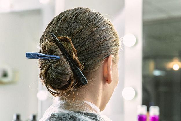 Oiling Hair