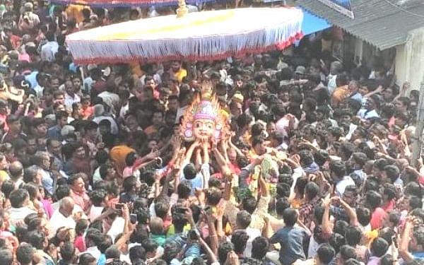 கொரோனா லாக்டௌன் - குடியாத்தம் சிரசுத் திருவிழா ரத்து #StayHome