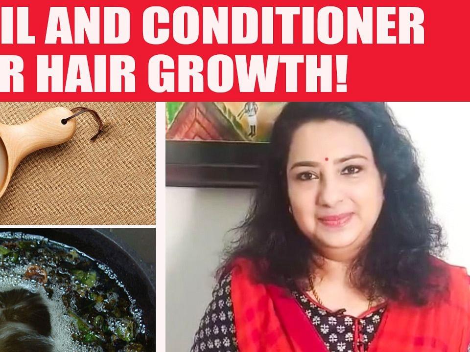 முடி அடர்த்தியாக வளர இந்த எண்ணெய் தடவுங்க! |Hair Growth Oil at Home | Vasunthara Series