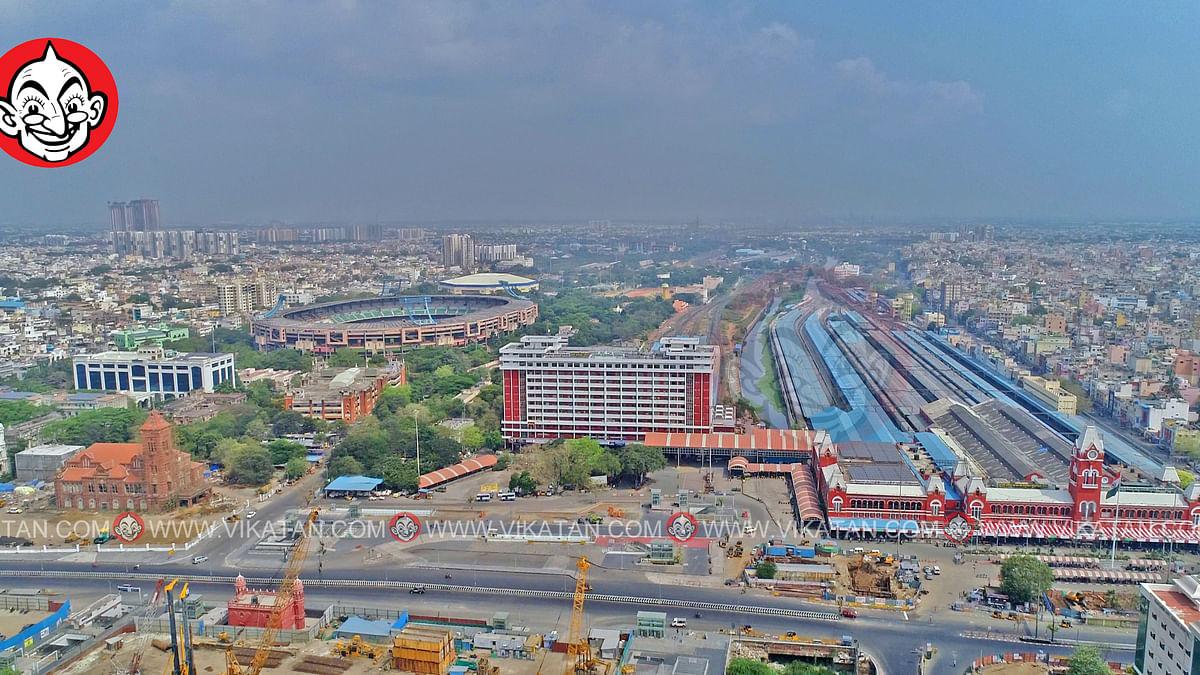 சென்ட்ரல் ரயில் நிலையம் - சென்னை