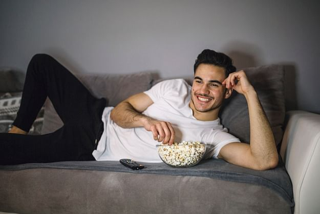 Eating while watching tv is bad