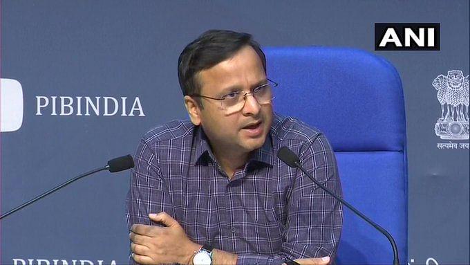 மத்திய சுகாதாரத்துறை இணைச் செயலாளர் லாவ் அகர்வால்