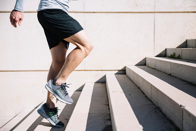 Stepping Stairs Exercise