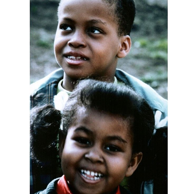 Michelle with her Brother