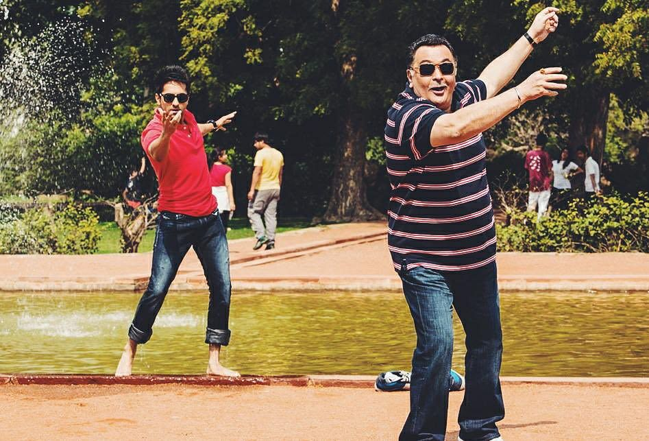 Ayushman Khurrana, Rishi Kapoor