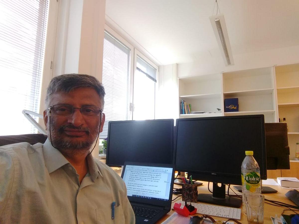 Scientist Venkateswaran