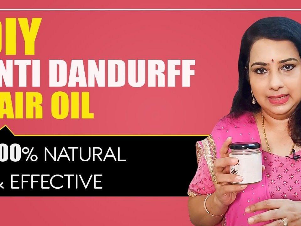 How to prepare Anti Dandruff HAIR OIL at HOME? | Hair-fall | Hair-loss | Vasunthara Series