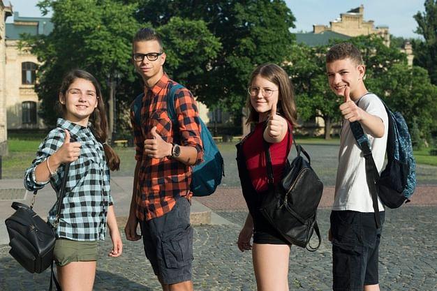 teen age children