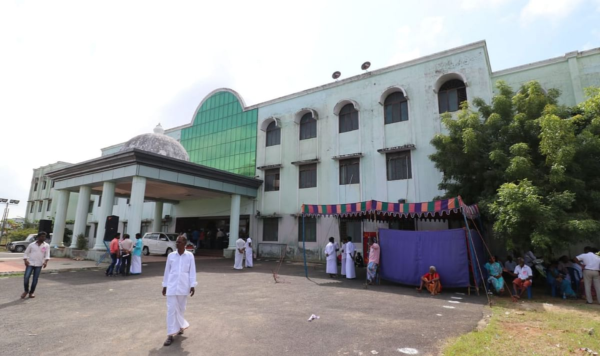 ராமநாதபுரம் கொரோனா முன் தடுப்பு முகாம்.