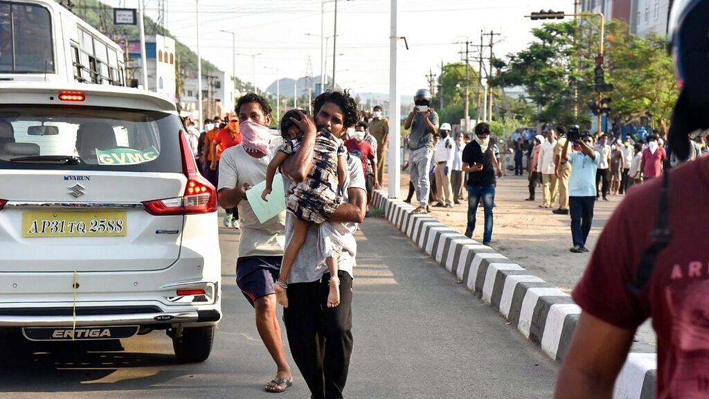 ஆந்திரா காஸ் கசிவு