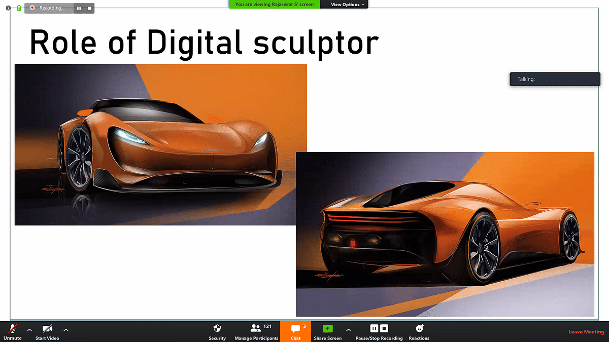 Digital sculpting