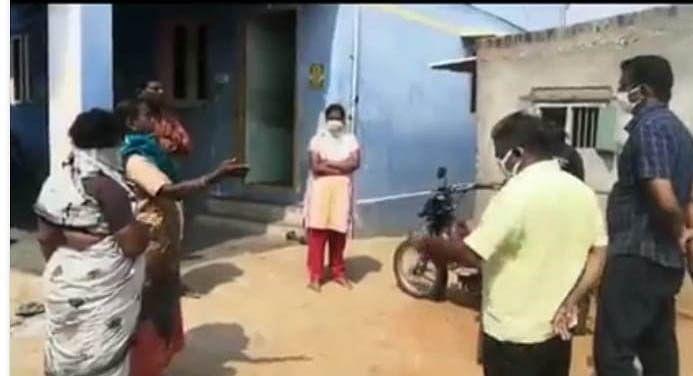 விசாரணை நடத்தும் தாசில்தார்