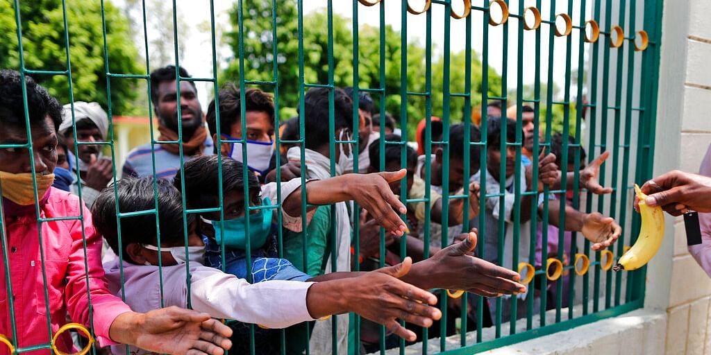 Migrant workers in Uttar Pradesh